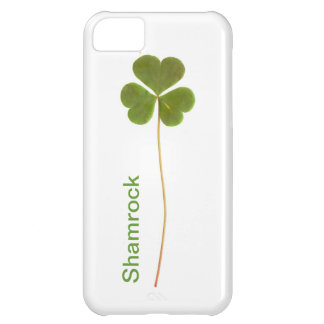 Shamrock for Saint Patrick's Day iPhone 5C Covers