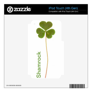 Shamrock for Saint Patrick's Day iPod Touch 4G Skins