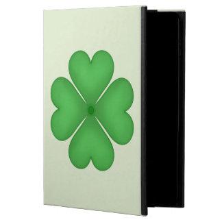 Shamrock Four leaf Clover Hearts Powis iPad Air 2 Case