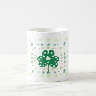Shamrock framework coffee mug