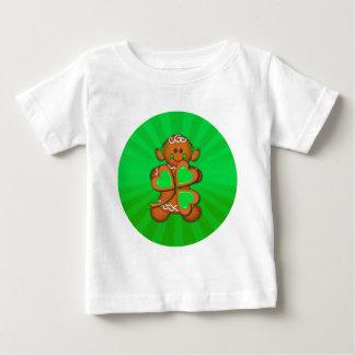 SHAMROCK GIRL & LIGHT RAYS by SHARON SHARPE Baby T-Shirt