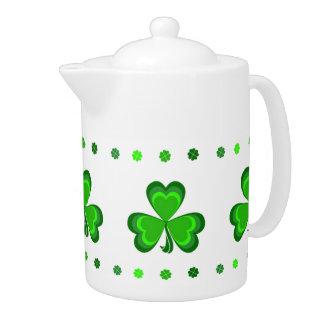 Shamrock Glory Teapot
