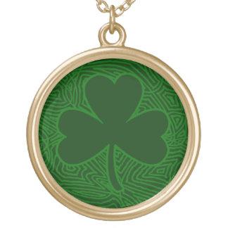 Shamrock Gold Plated Necklace
