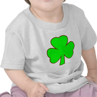 Shamrock Green Brown The MUSEUM Zazzle Gifts T Shirt