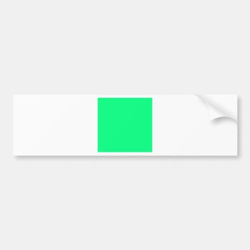 Shamrock Green Bumper Sticker