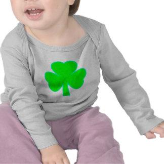Shamrock Green Cyan The MUSEUM Zazzle Gifts Shirt