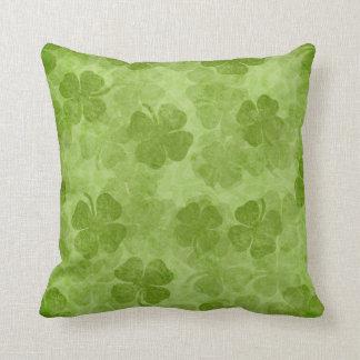 Shamrock Green Irish Pillow