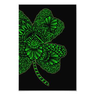 Shamrock - Green Art Photo