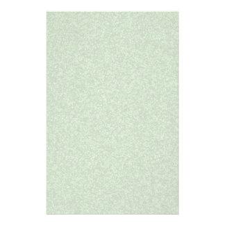 Shamrock Green Sparkles Stationery