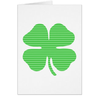 shamrock green stripes light.png stationery note card