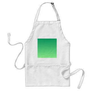 Shamrock Green to Mint Green Horizontal Gradient Apron