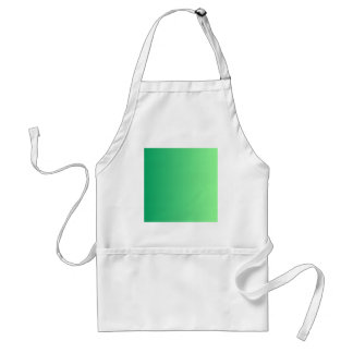 Shamrock Green to Mint Green Vertical Gradient Aprons