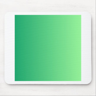 Shamrock Green to Mint Green Vertical Gradient Mouse Pad