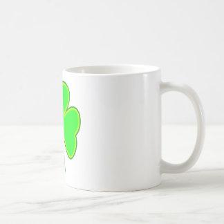 Shamrock Green Yellow The MUSEUM Zazzle Gifts Coffee Mug
