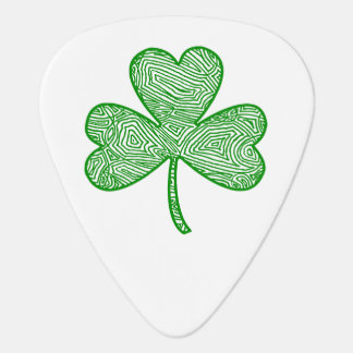 Shamrock Guitar Pick