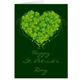 Shamrock Heart Card