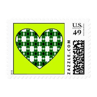 Shamrock Heart Postage