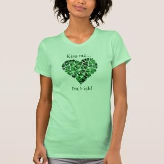Shamrock Heart St. Patrick's Day Custom