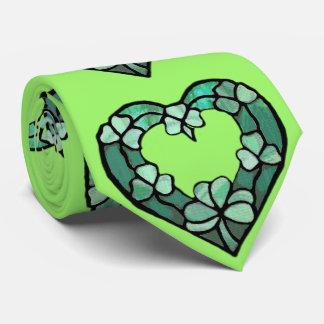 Shamrock Heart Tie