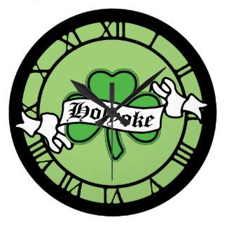Shamrock Holyoke St Patrick's Day Wallclock