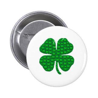 Shamrock Images Pinback Button