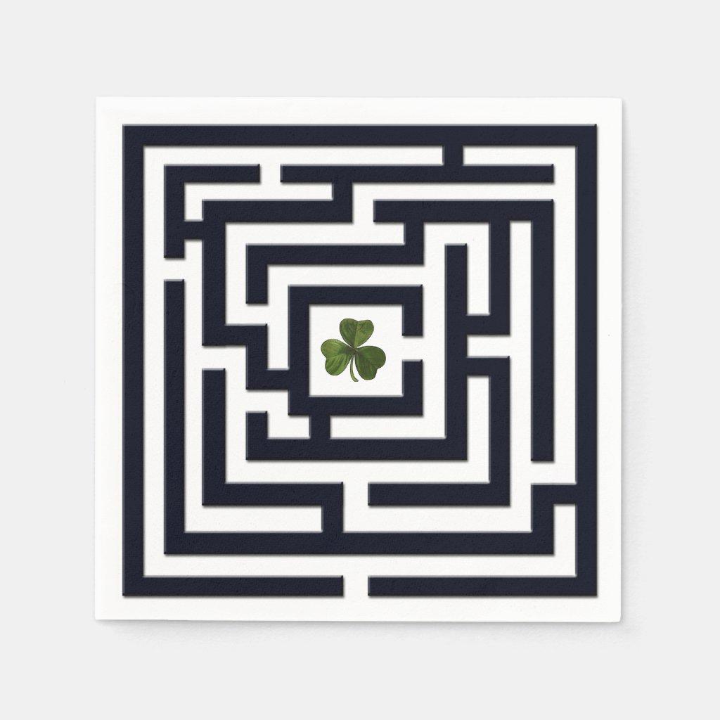 Shamrock in Black Labyrinth Challenge