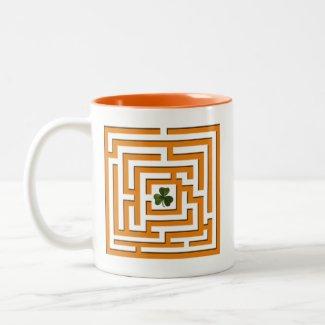 Shamrock in Orange Labyrinth Challenge