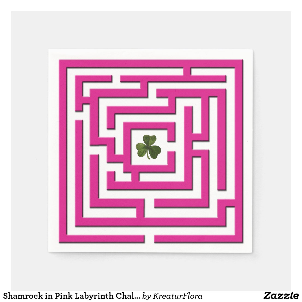 Shamrock in Pink Labyrinth Challenge