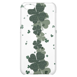 Shamrock Irelands lucky clovers iPhone 5C Cases