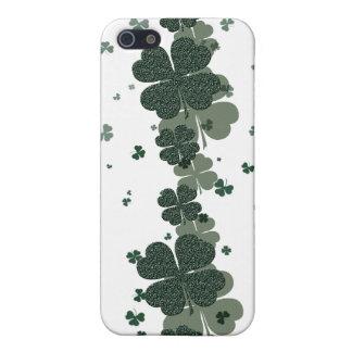 Shamrock Irelands lucky clovers Case For iPhone 5