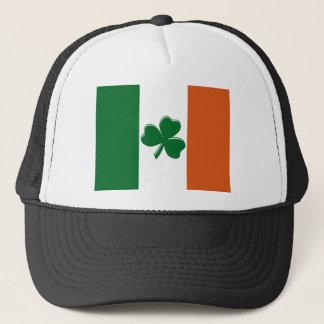 Shamrock Irish Flag Design from U.S. Custom Ink Trucker Hat