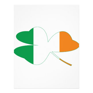Shamrock Irish Flag Flyer