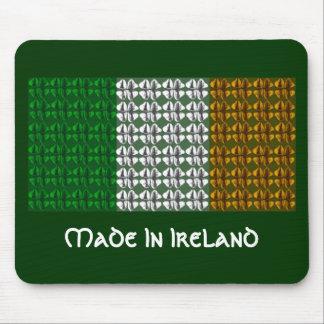 Shamrock Irish Flag Mouse Pad