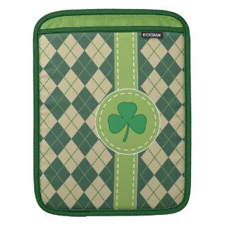 Shamrock Irish iPad Sleeve