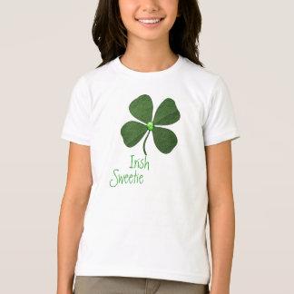 Shamrock Irish Sweetie Cute T-Shirt