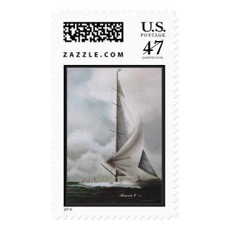 Shamrock IV Stamp