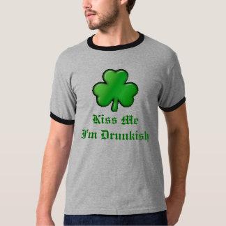 shamrock, Kiss MeI'm Drunkish T-Shirt