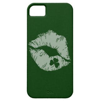 Shamrock Kisses iphone 5 Cases