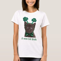 Shamrock Kitten Shirt