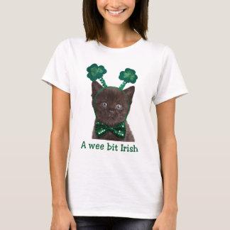 Shamrock Kitten Shirt