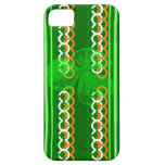 Shamrock Knot Stripes iPhone 5/5S Cover