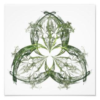Shamrock Lace Photographic Print