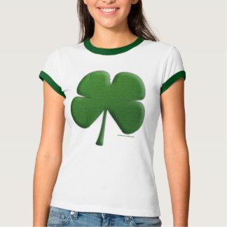 Shamrock Ladies Ringer T-Shirt