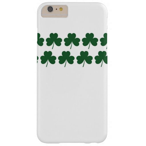 Shamrock Lines Barely There iPhone 6 Plus Case