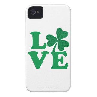 Shamrock LOVE iPhone 4 Cover
