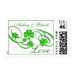 Shamrock Love Stamps