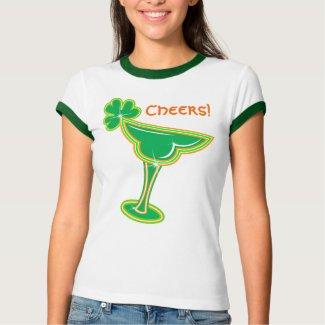 Shamrock Margarita Cheers! shirt