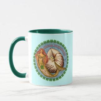 Shamrock Mermaid Mug