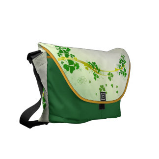 Shamrock Messenger Bag