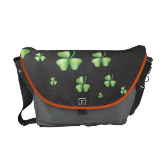 Shamrock Messenger Bag